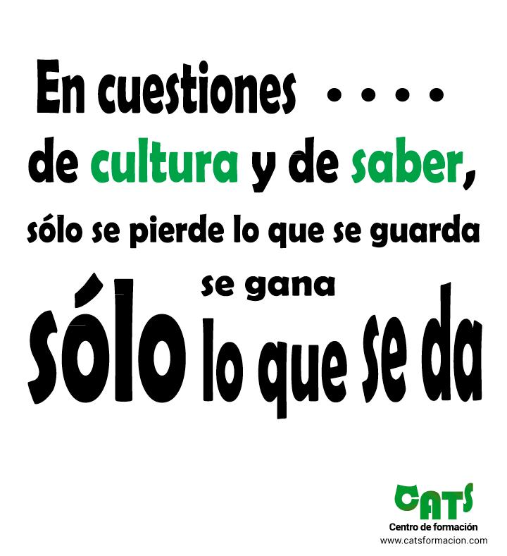 cultura y saber
