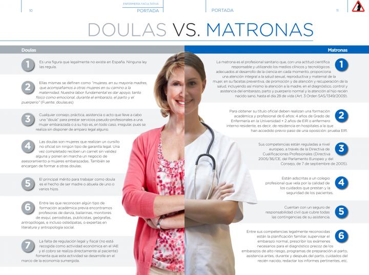 doulas vs matronas