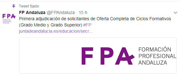 primera adjudicacion fp andalucia